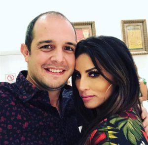 Jorge Fernández e Ingrid De Ycaza